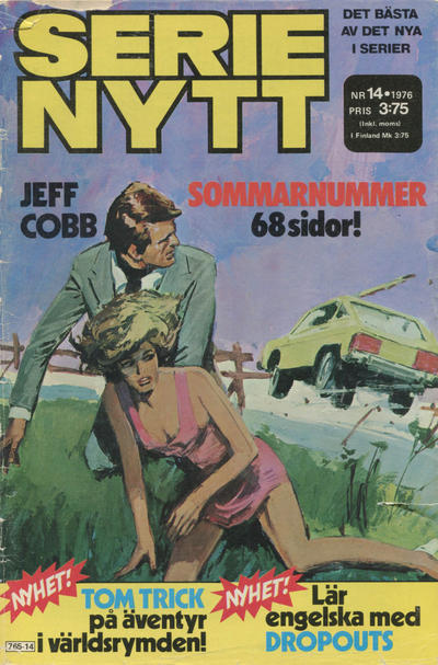 Cover for Serie-nytt [delas?] (Semic, 1970 series) #14/1976