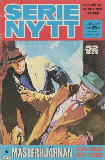 Cover for Serie-nytt [delas?] (Semic, 1970 series) #17/1976
