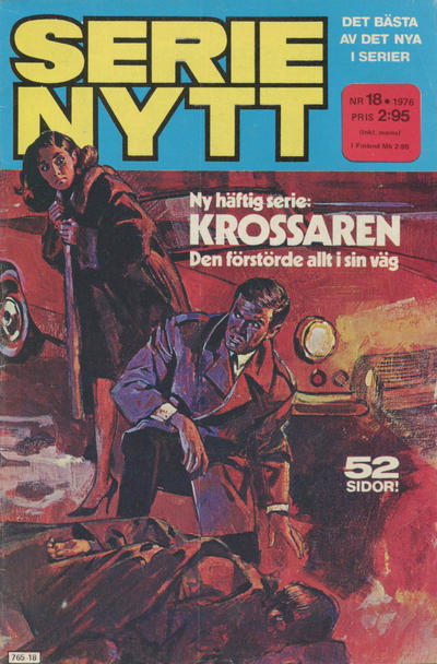 Cover for Serie-nytt [delas?] (Semic, 1970 series) #18/1976