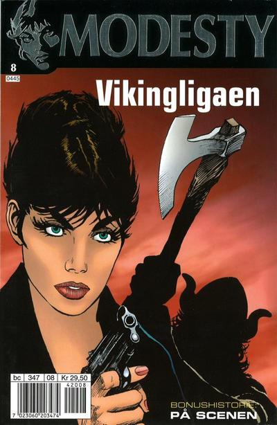 Cover for Modesty (Hjemmet / Egmont, 2004 series) #8
