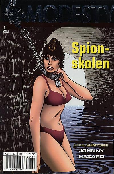 Cover for Modesty (Hjemmet / Egmont, 2004 series) #9