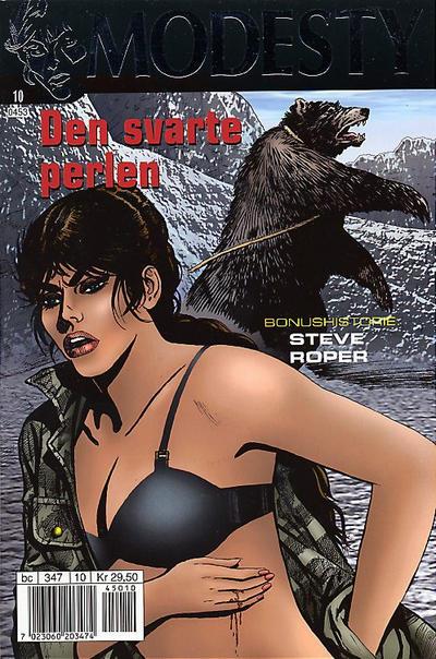 Cover for Modesty (Hjemmet / Egmont, 2004 series) #10