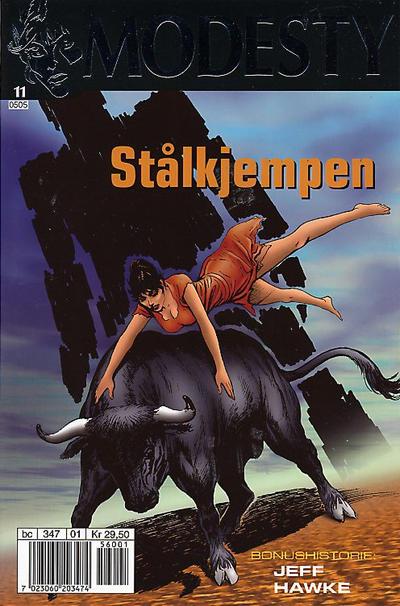 Cover for Modesty (Hjemmet / Egmont, 2004 series) #11