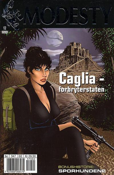 Cover for Modesty (Hjemmet / Egmont, 2004 series) #12