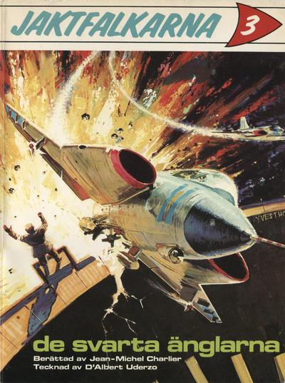 Cover for Jaktfalkarna (Semic, 1971 series) #3 - De svarta änglarna