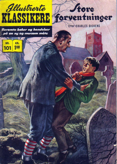 Cover for Illustrerte Klassikere [Classics Illustrated] (Illustrerte Klassikere / Williams Forlag, 1957 series) #101 - Store forventninger