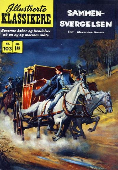 Cover for Illustrerte Klassikere [Classics Illustrated] (Illustrerte Klassikere / Williams Forlag, 1957 series) #103 - Sammensvergelsen