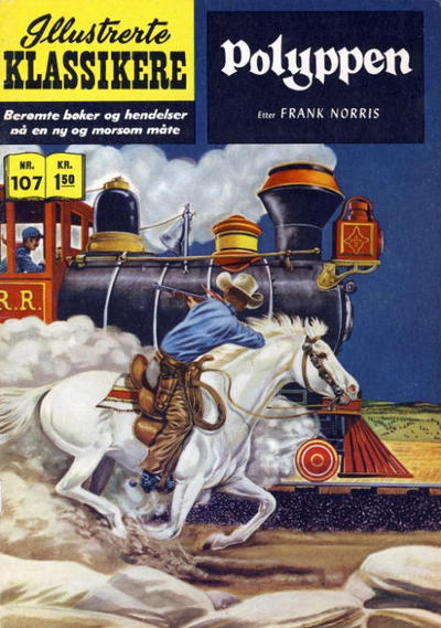 Cover for Illustrerte Klassikere [Classics Illustrated] (Illustrerte Klassikere / Williams Forlag, 1957 series) #107 - Polyppen [1. opplag]