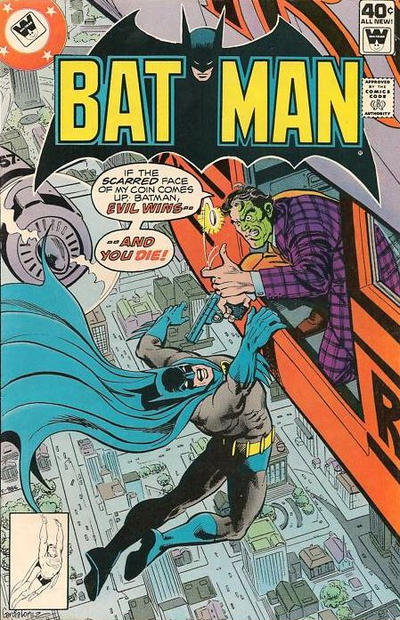 Cover for Batman (DC, 1940 series) #314 [Whitman cover]
