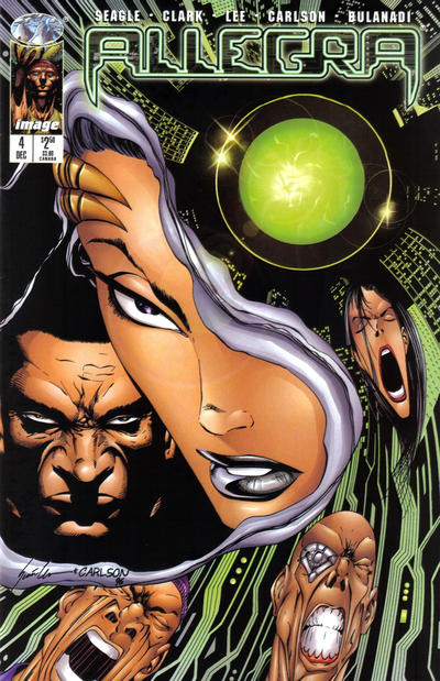 Cover for Allegra (Image, 1996 series) #4