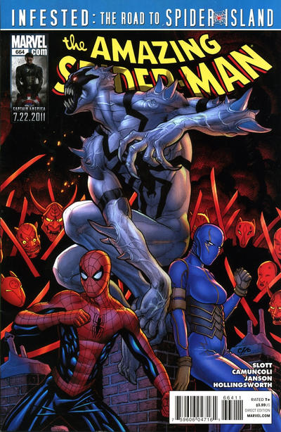 Cover for The Amazing Spider-Man (Marvel, 1999 series) #664