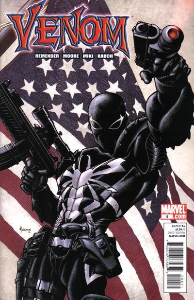 Cover for Venom (Marvel, 2011 series) #4