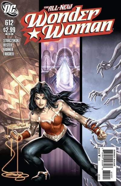 Cover for Wonder Woman (DC, 2006 series) #612