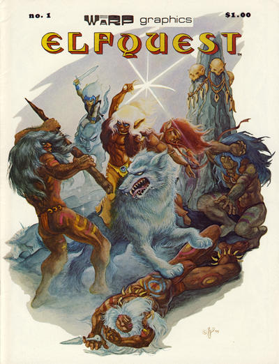 Cover for ElfQuest (WaRP Graphics, 1978 series) #1 [$1.25 later printing]
