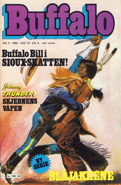 Cover for Buffalo (Semic, 1982 series) #5/1982