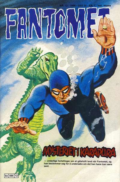Cover for Fantomet (Semic, 1976 series) #12/1984