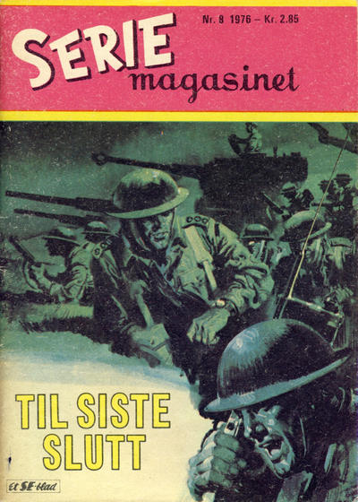 Cover for Seriemagasinet (Serieforlaget / Se-Bladene / Stabenfeldt, 1951 series) #8/1976