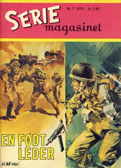 Cover for Seriemagasinet (Serieforlaget / Se-Bladene / Stabenfeldt, 1951 series) #7/1976
