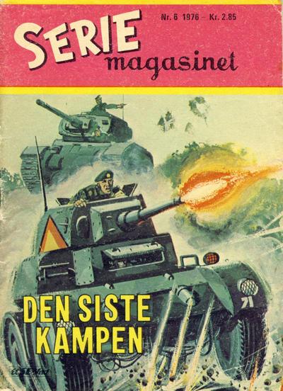 Cover for Seriemagasinet (Serieforlaget / Se-Bladene / Stabenfeldt, 1951 series) #6/1976