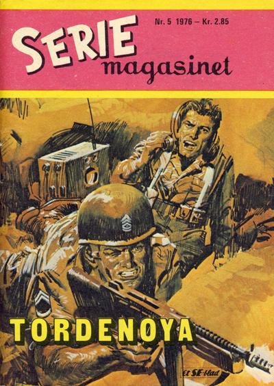 Cover for Seriemagasinet (Serieforlaget / Se-Bladene / Stabenfeldt, 1951 series) #5/1976