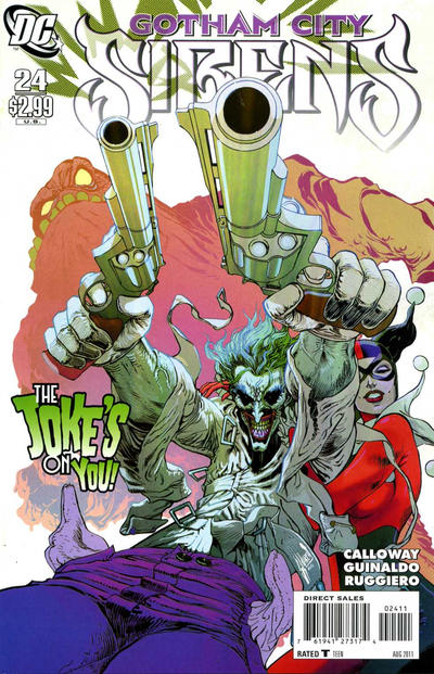 Cover for Gotham City Sirens (DC, 2009 series) #24
