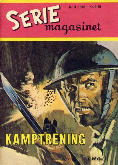 Cover for Seriemagasinet (Serieforlaget / Se-Bladene / Stabenfeldt, 1951 series) #4/1976