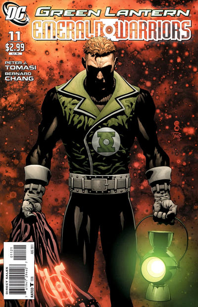 Cover for Green Lantern: Emerald Warriors (DC, 2010 series) #11