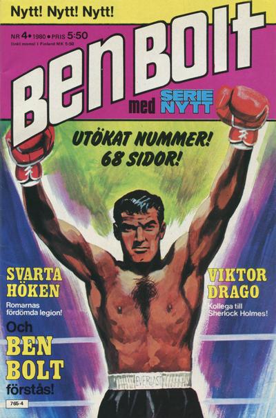Cover for Serie-nytt [delas?] (Semic, 1970 series) #4/1980