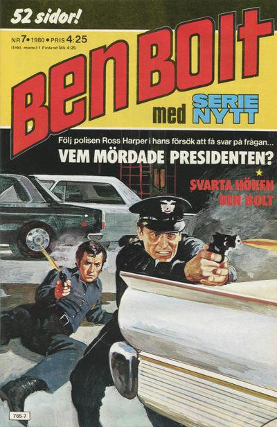 Cover for Serie-nytt [delas?] (Semic, 1970 series) #7/1980