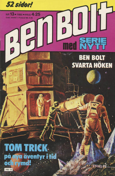 Cover for Serie-nytt [delas?] (Semic, 1970 series) #13/1980