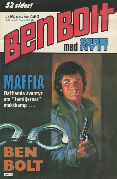 Cover for Serie-nytt [delas?] (Semic, 1970 series) #16/1980