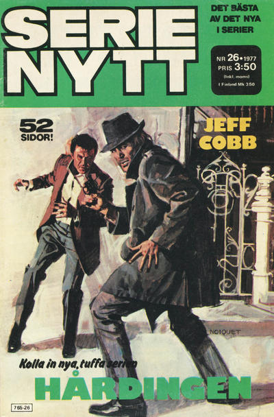 Cover for Serie-nytt [delas?] (Semic, 1970 series) #26/1977