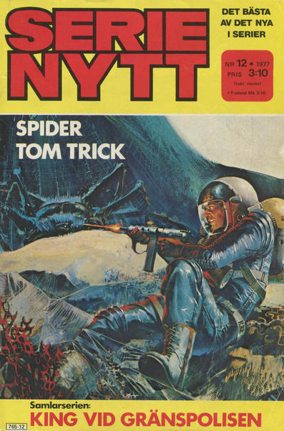 Cover for Serie-nytt [delas?] (Semic, 1970 series) #12/1977