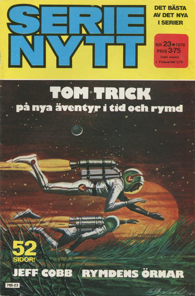 Cover for Serie-nytt [delas?] (Semic, 1970 series) #23/1978