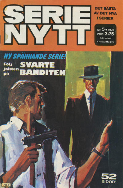 Cover for Serie-nytt [delas?] (Semic, 1970 series) #5/1978