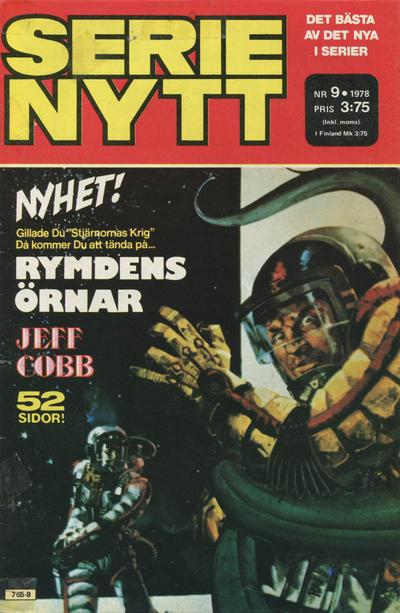 Cover for Serie-nytt [delas?] (Semic, 1970 series) #9/1978