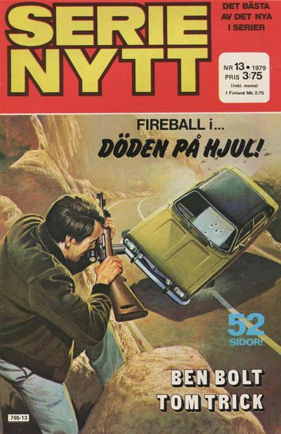 Cover for Serie-nytt [delas?] (Semic, 1970 series) #13/1979