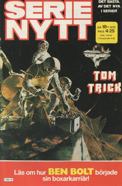 Cover for Serie-nytt [delas?] (Semic, 1970 series) #18/1979