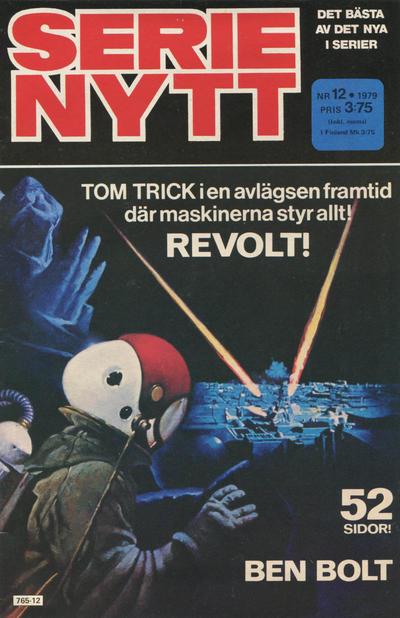 Cover for Serie-nytt [delas?] (Semic, 1970 series) #12/1979