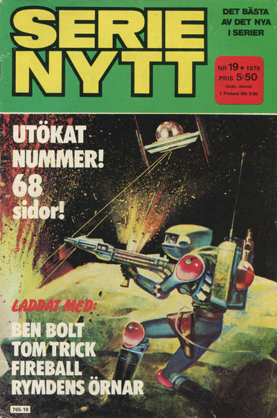 Cover for Serie-nytt [delas?] (Semic, 1970 series) #19/1979