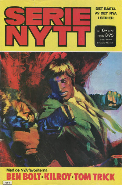 Cover for Serie-nytt [delas?] (Semic, 1970 series) #6/1979