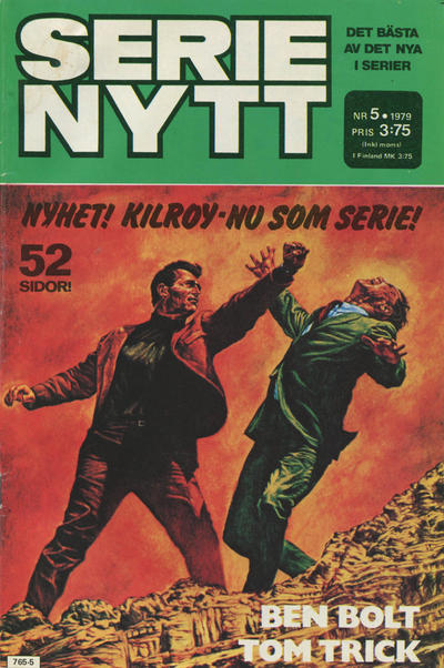 Cover for Serie-nytt [delas?] (Semic, 1970 series) #5/1979