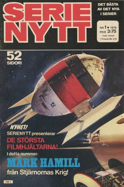 Cover for Serie-nytt [delas?] (Semic, 1970 series) #1/1979