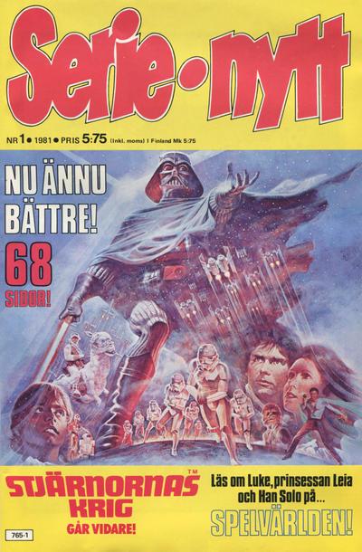 Cover for Serie-nytt [delas?] (Semic, 1970 series) #1/1981
