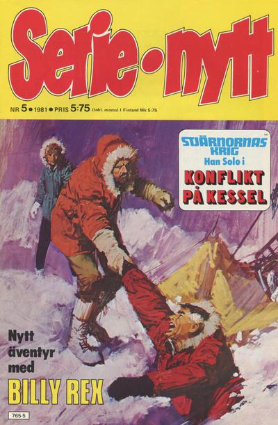 Cover for Serie-nytt [delas?] (Semic, 1970 series) #5/1981