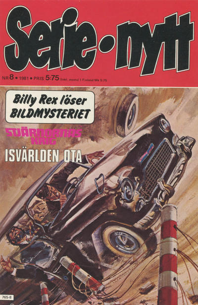 Cover for Serie-nytt [delas?] (Semic, 1970 series) #8/1981