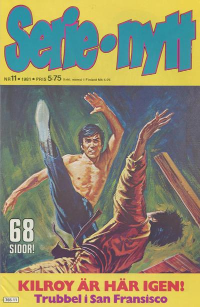 Cover for Serie-nytt [delas?] (Semic, 1970 series) #11/1981