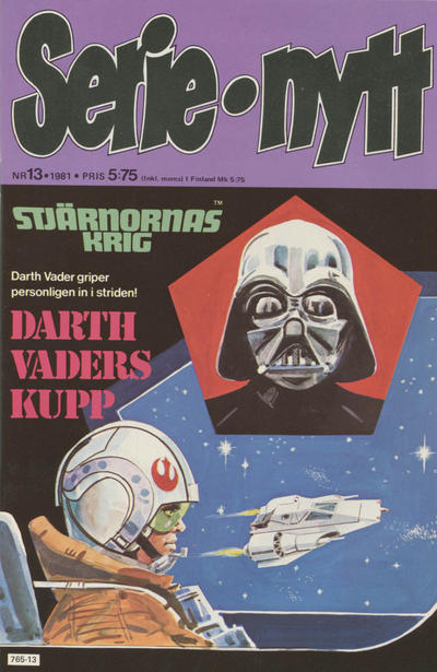 Cover for Serie-nytt [delas?] (Semic, 1970 series) #13/1981