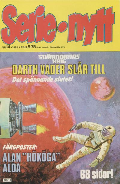 Cover for Serie-nytt [delas?] (Semic, 1970 series) #14/1981