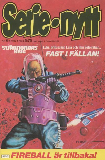 Cover for Serie-nytt [delas?] (Semic, 1970 series) #6/1982